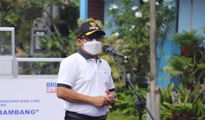 Wali kota Malang Sutiaji menjelaskan PPKM Mikro