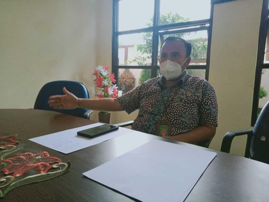 Humas PN Kepanjen, Reza Aulia,dikonfirmasi pada Kamis (18/03/2021). (Foto Rizal)