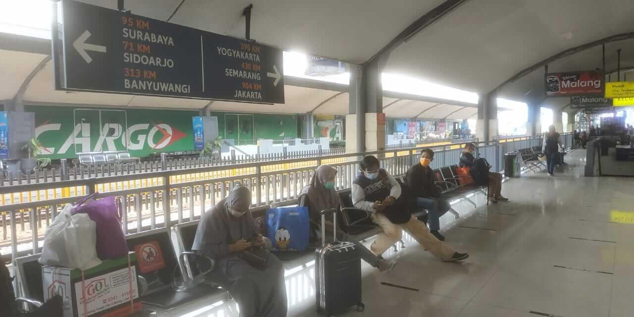 Suasana Stasiun Kota Malang. (Foto dok Tugu Malang)
