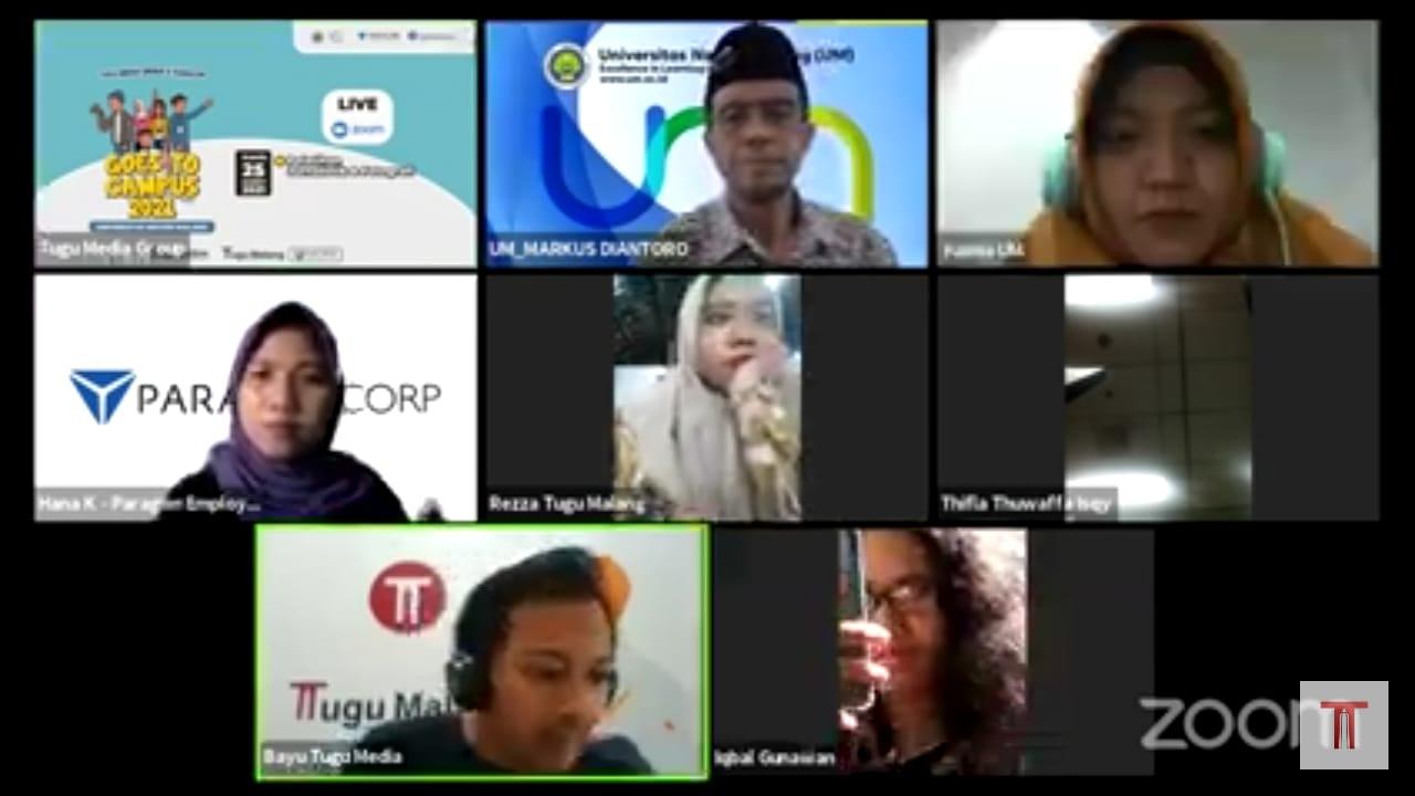 Webinar Tugu Media Group Goes to Campus.