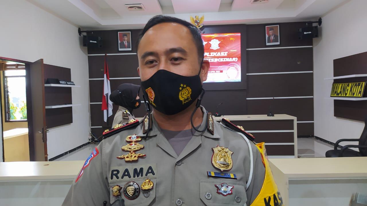 Kasat Lantas Polresta Malang Kota, Kompol Ramadian Nasution. Foto/Azmy.