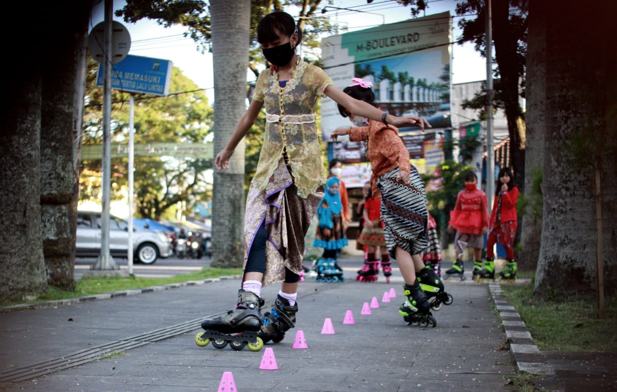Malang Freestyle Slalom Team (Mafest). Foto Rubianto/Tugumalang.id