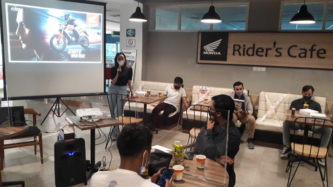 Sunday Gathering Bersama Komunitas Honda CB150R