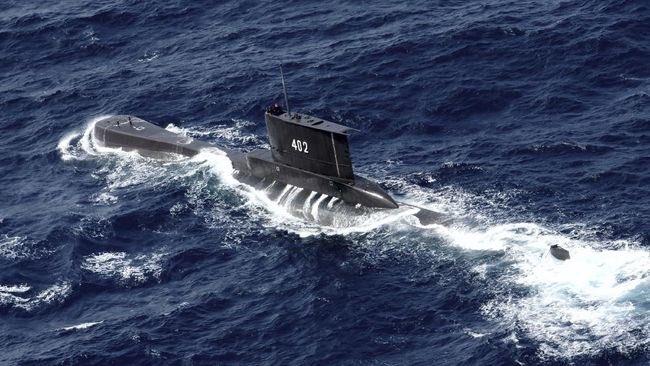 Ilustrasi Kapal Nanggala 402.